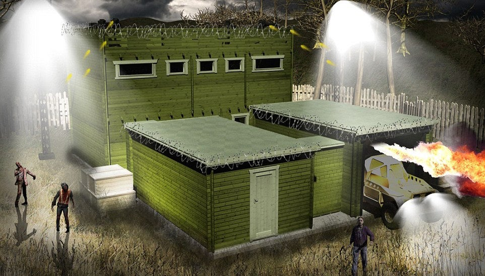 146 000 Anti Zombie Cabin Is Your Best Bet To Stay Safe