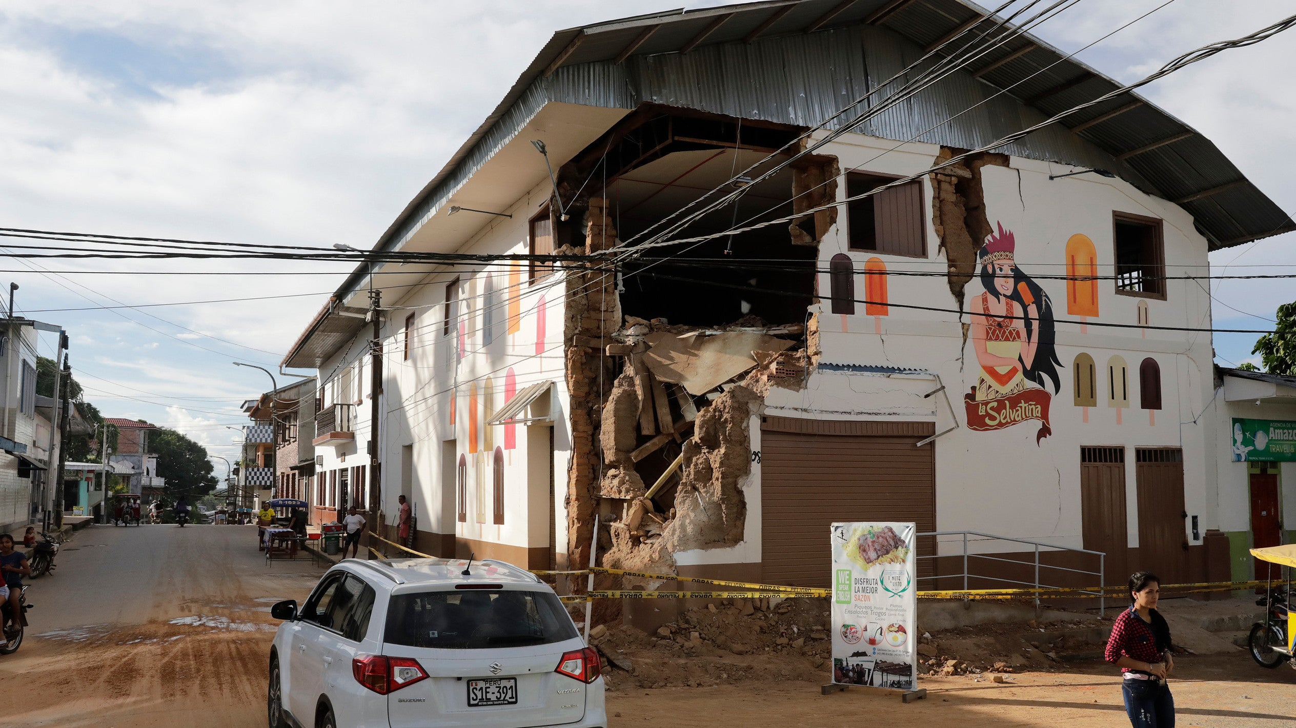 Powerful Earthquake Strikes Miles Below Amazon Rainforest In Peru, Limiting Casualties