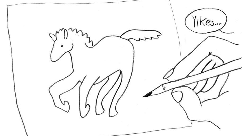 Here's Why It's So Hard To Draw A Horse