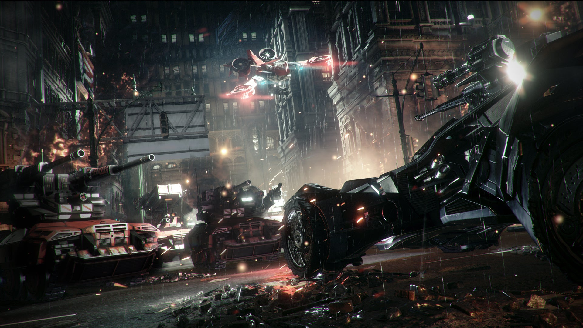I Drove Batman: Arkham Knight's Batmobile