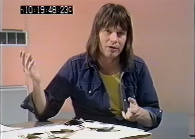 Watch a Young Terry Gilliam Explain How He Makes Monty Python Animations