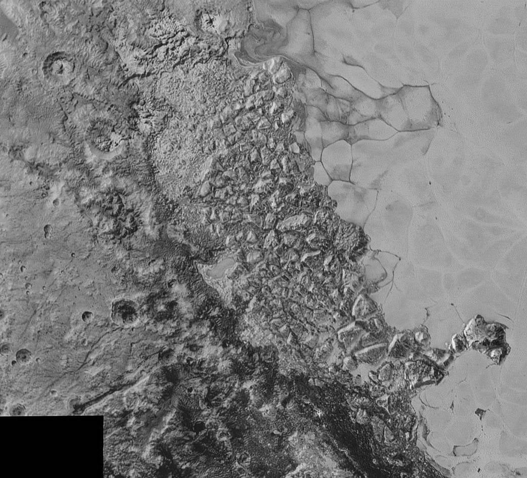 Astronomers Think a Space Rock the Size of Manhattan Created Pluto's Weird, Bumpy Plains