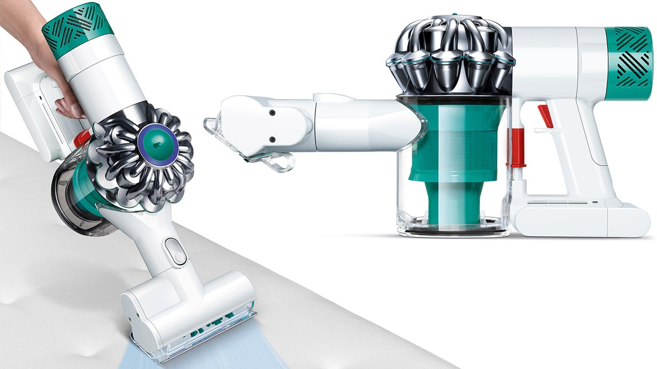 Dyson's New Filtered Hand Vac Is Designed To Suck Your Mattress Clean