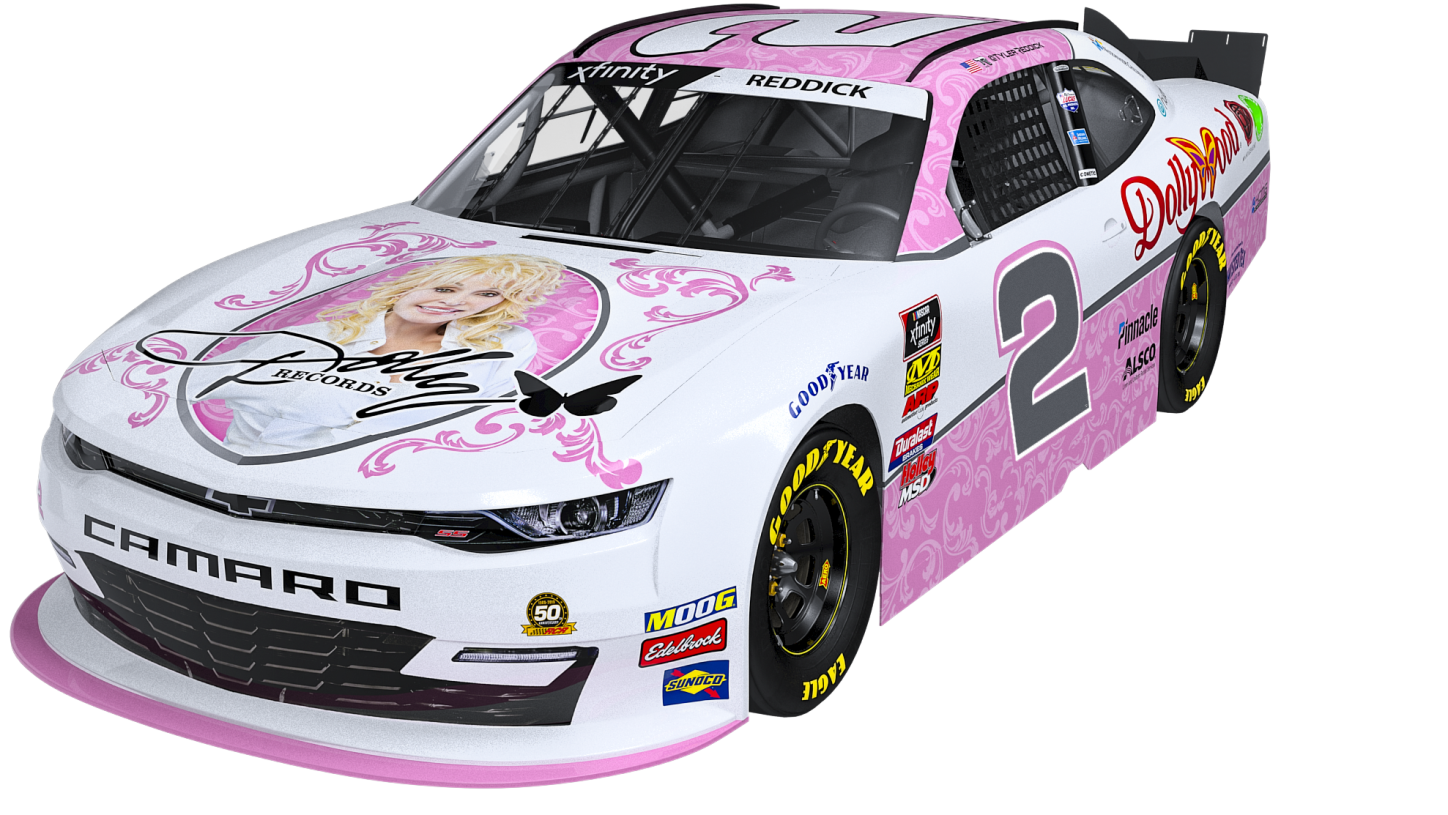 Nothing Will Ever Be As Good As This Dolly Parton NASCAR Camaro
