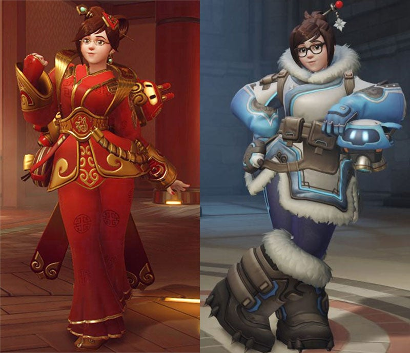 how to get new overwatch skins