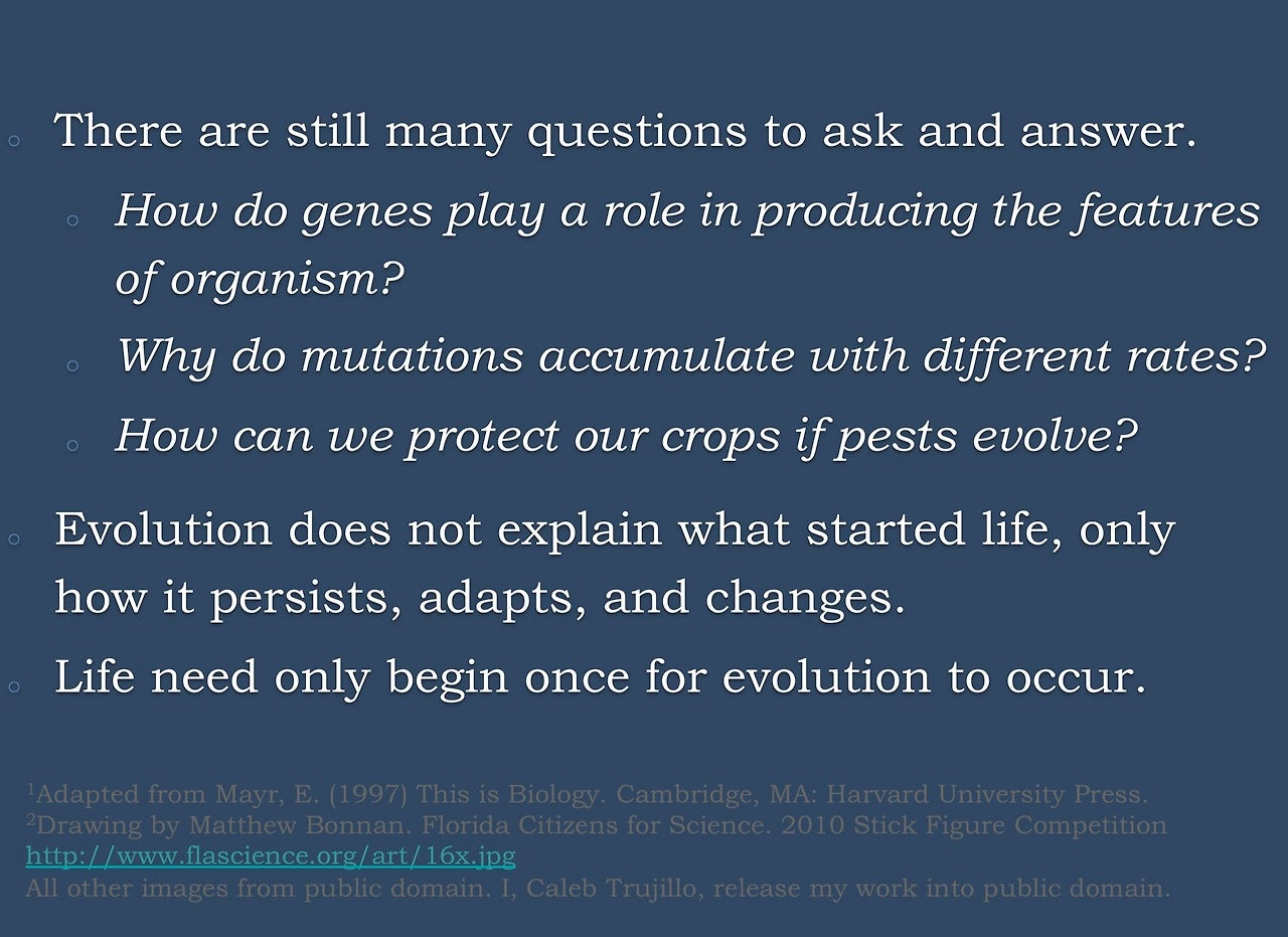 Top five misconceptions about evolution according to science