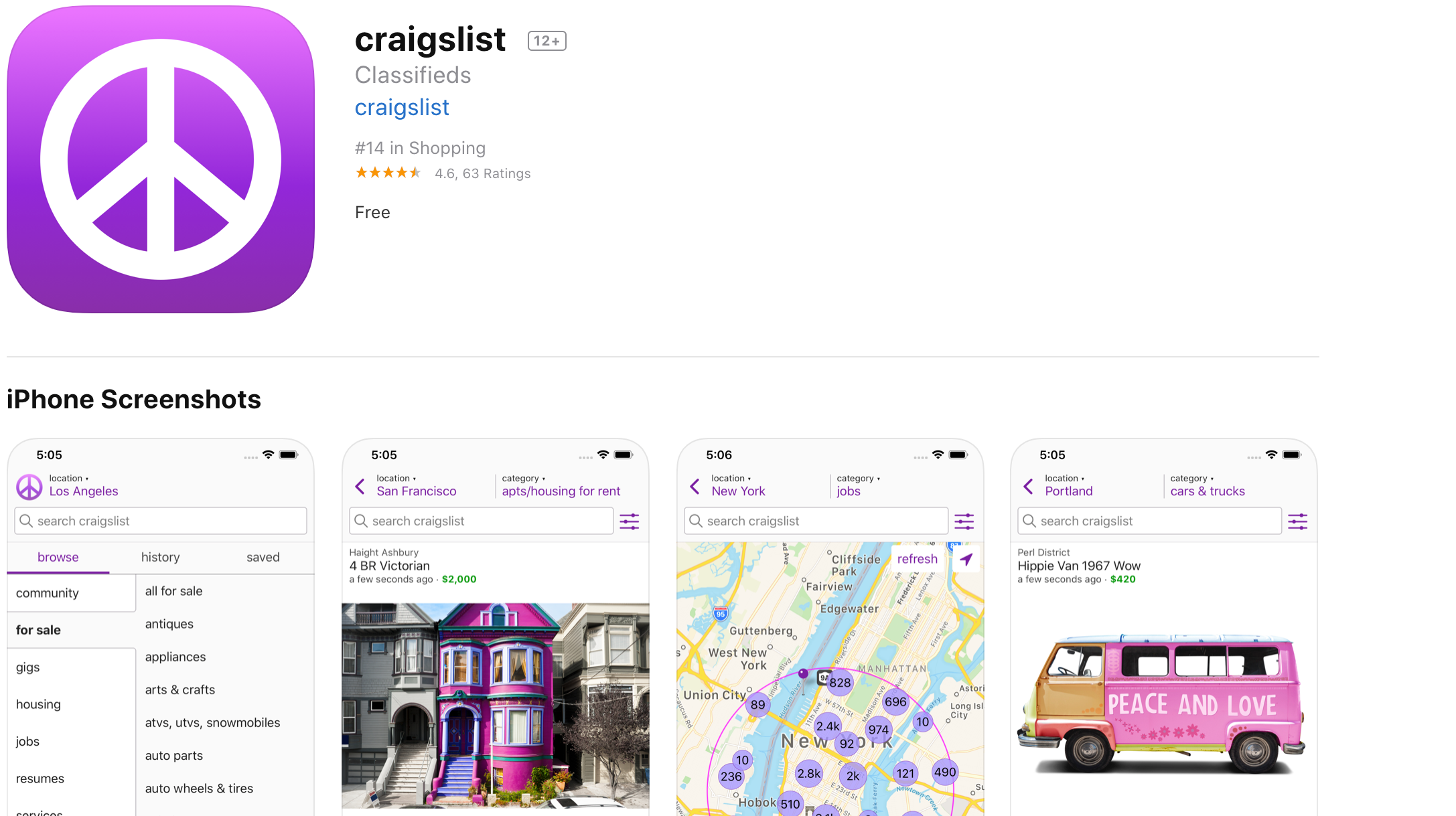 Craigslist Finally Gets An Official App