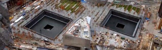 10-Year Timelapse Of The World Trade Center Memorial