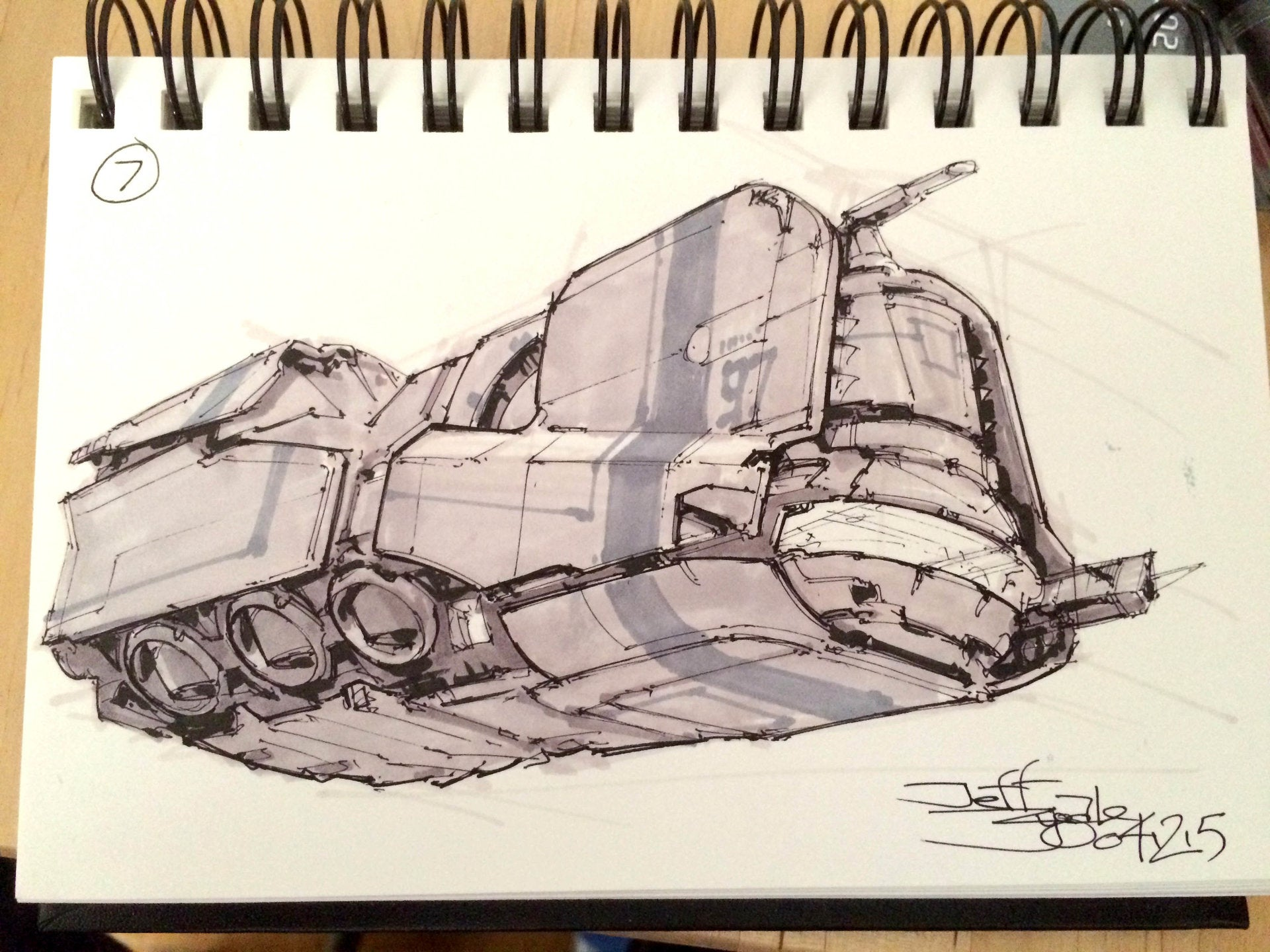 Drawing Spaceships The Old-Fashioned Way