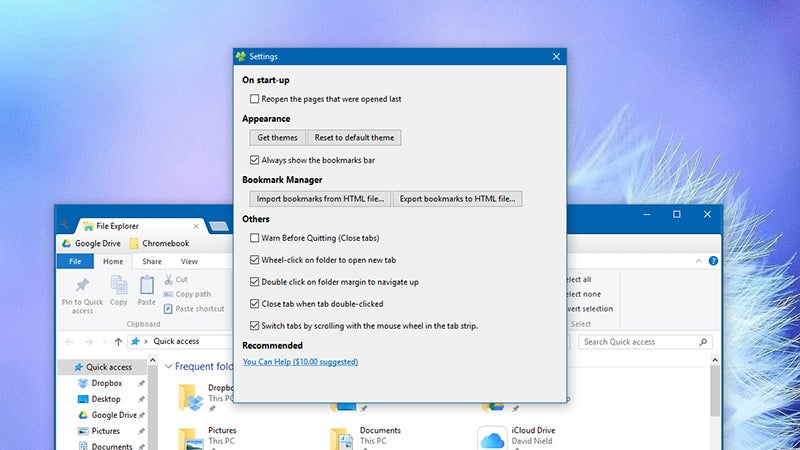 How to Browse Windows Folders Using Tabs