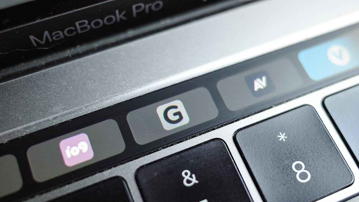 Apple's Touch Bar Doesn't Have To Be So Terrible