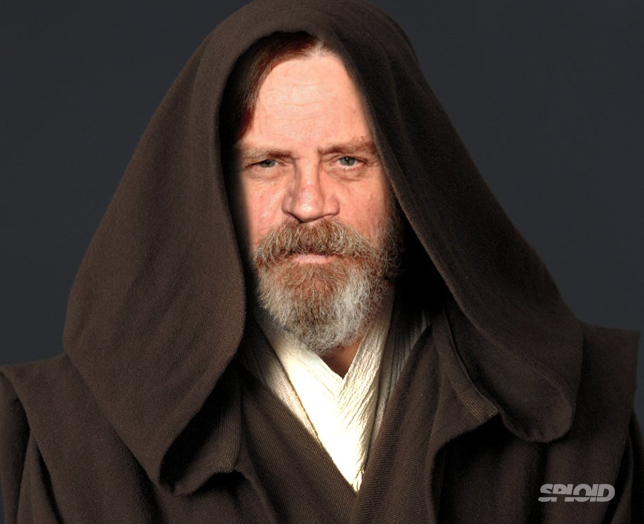 This is how Luke Skywalker looks in the new Star Wars