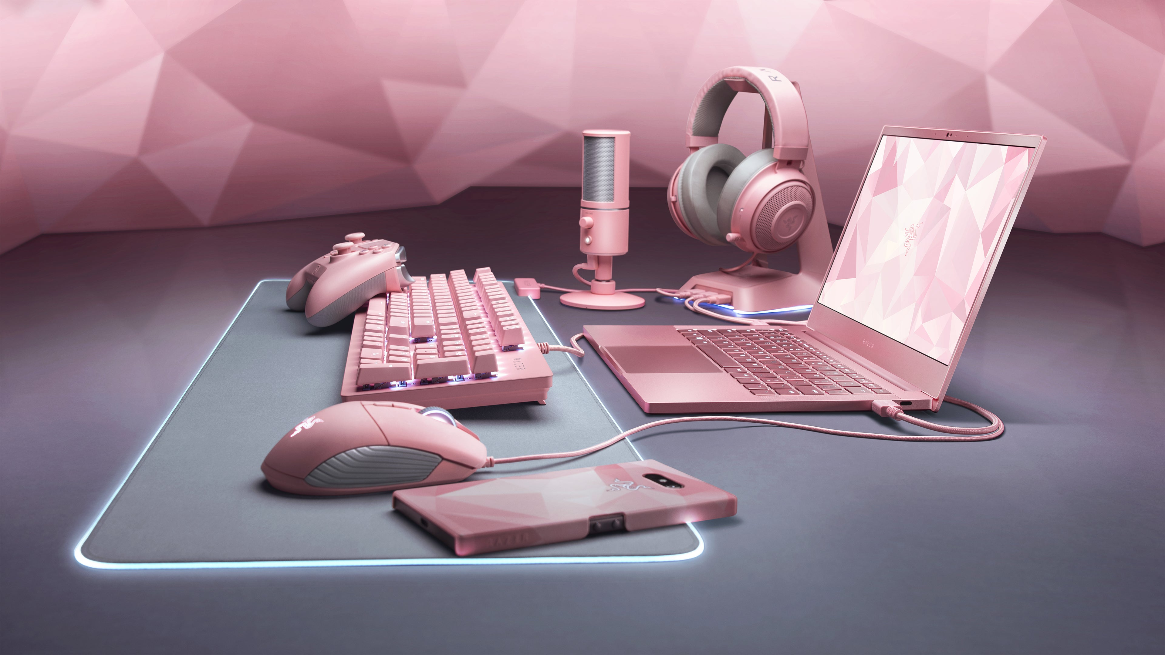 Razer Is Making Everything Pink Now, Including Laptops