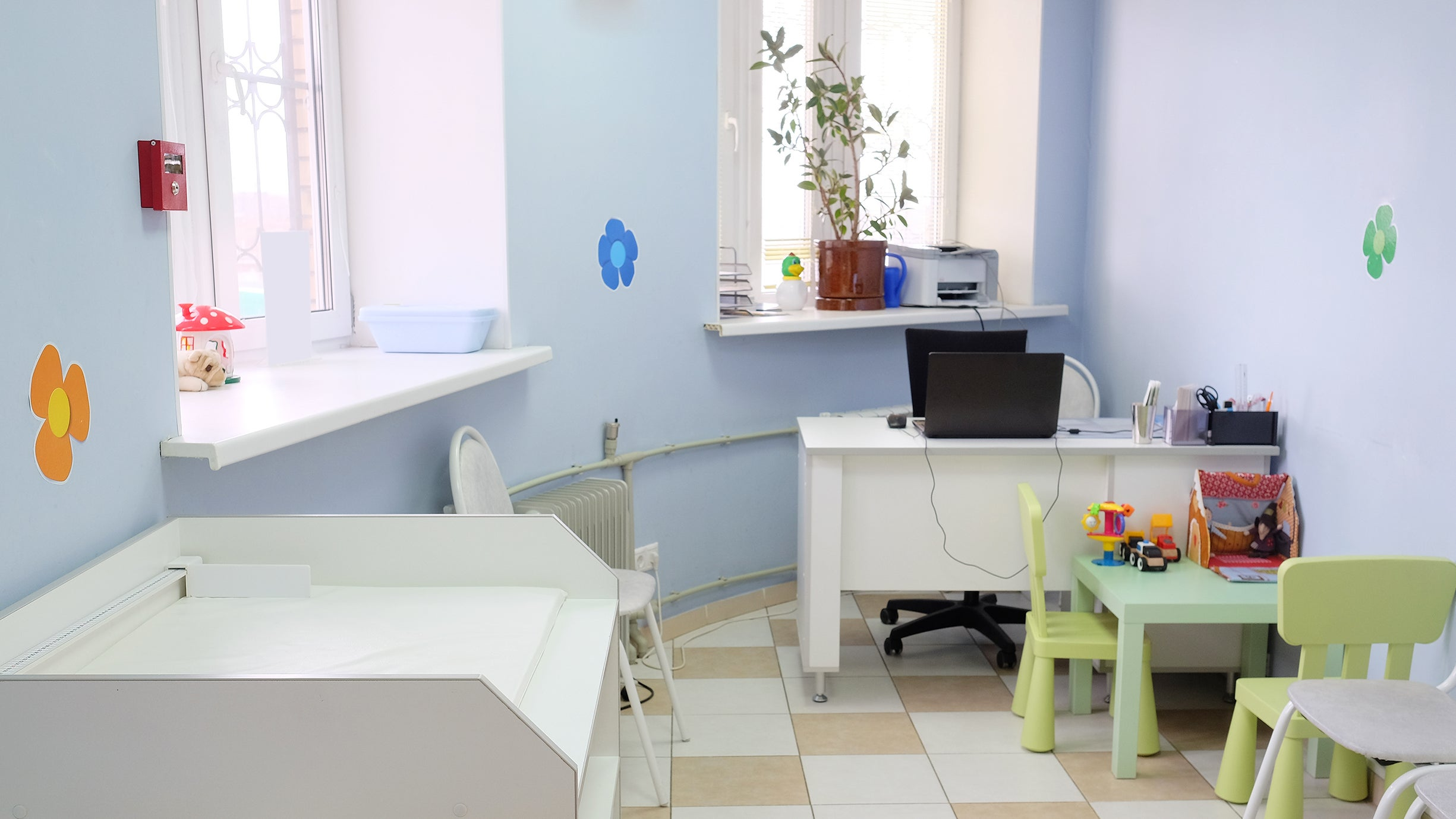 Bring Your Own Toys To The Paediatrician's Office