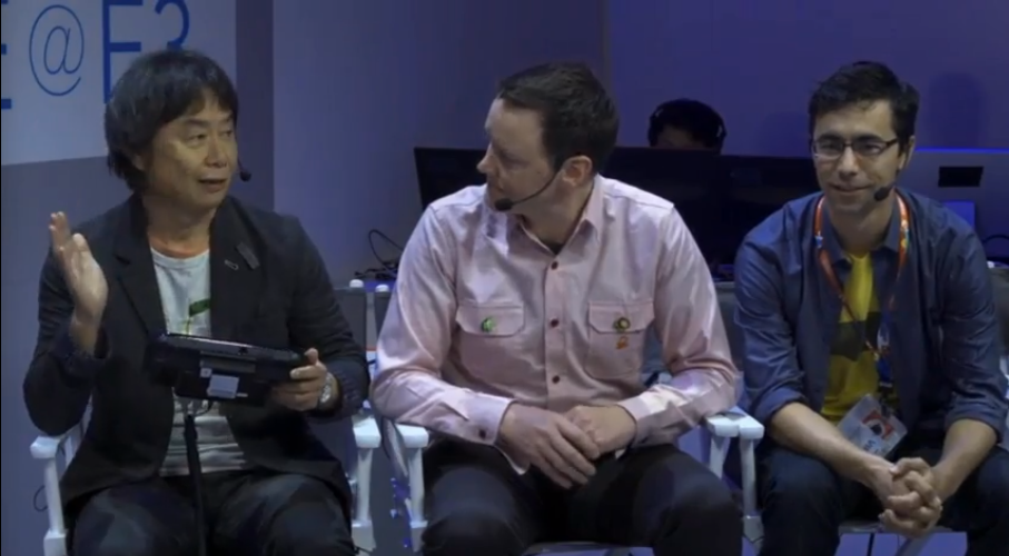 Watch Shigeru Miyamoto Show Off His Weird New Wii U Games