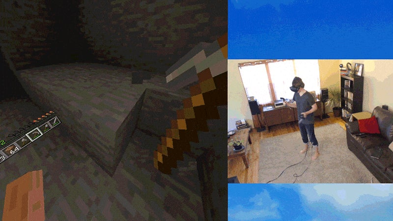 Minecraft In Virtual Reality Is The Real Deal
