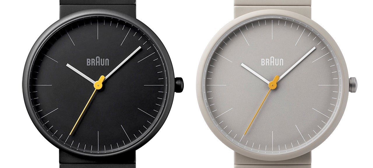 A Simple Ceramic Watch Born From Dieter Rams' Design Philosophy