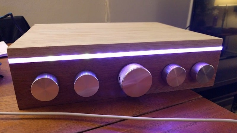 Build Your Own Spotify-Powered Jukebox With An LED-Lit Case