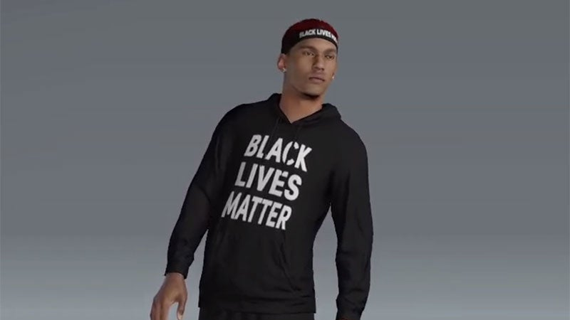 "NBA 2K20 Is Giving Players ""I Can't Breathe"" And ""Black Lives Matter"" T-Shirts"