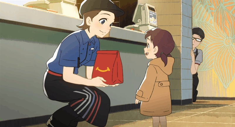 Anime Makes McDonald's Better