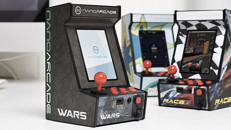 A Tiny Arcade Cabinet That Comes Ready To Play, No Assembly Required