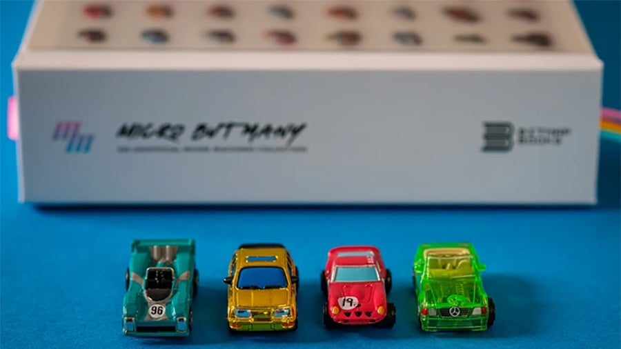 A Great Big Book About Tiny Toy Cars