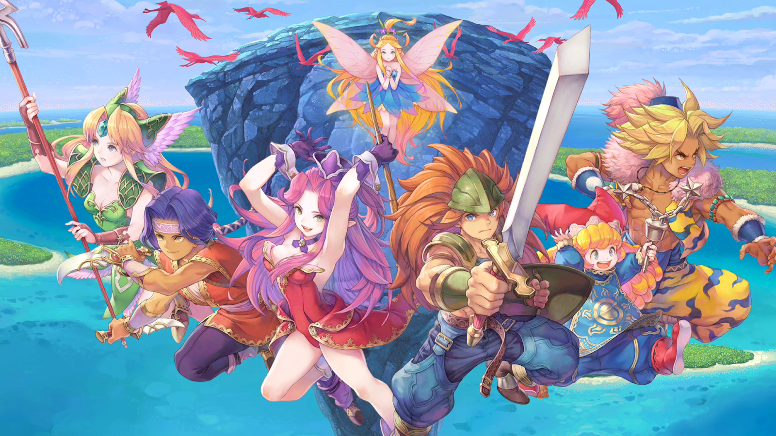 The Trials Of Mana Remake Proves Square Enix Can Faithfully Redo A Classic '90s RPG