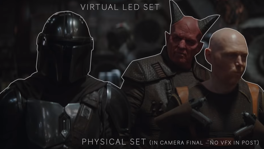 How ILM And Epic Games Created Virtual Sets For The Mandalorian's First Season