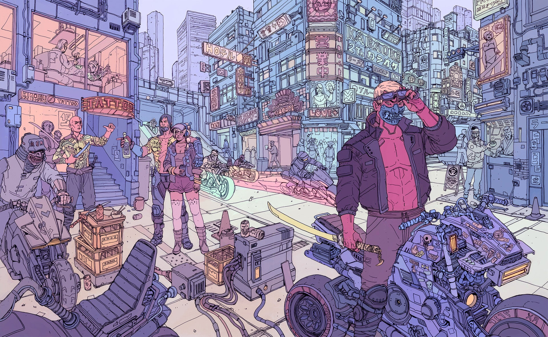 Cyberpunk 2077's Special Cover Art Is Very Nice