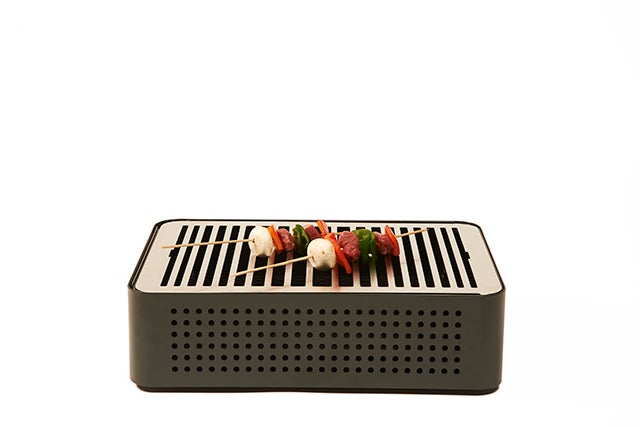 This Is Definitely the Classiest Portable Barbecue You'll Ever See