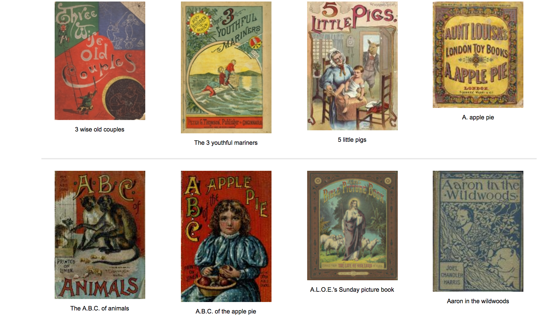Check Out This Free Digital Collection Of 6000 19th-Century Children's Books