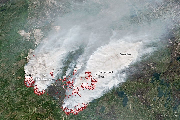 Horrific Canadian Wildfires Now Overtaking Oil Facilities