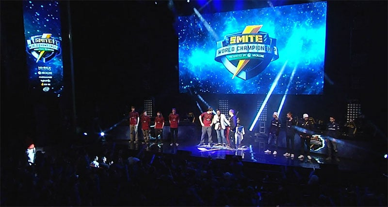 Watch The Grand Finals Of The 2016 Smite World Championship Right Here