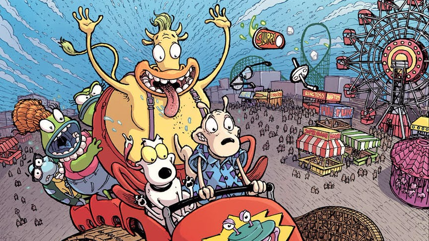 Rocko Will Navigate Unemployment In Rocko's Modern Life Comic From Boom! Studios