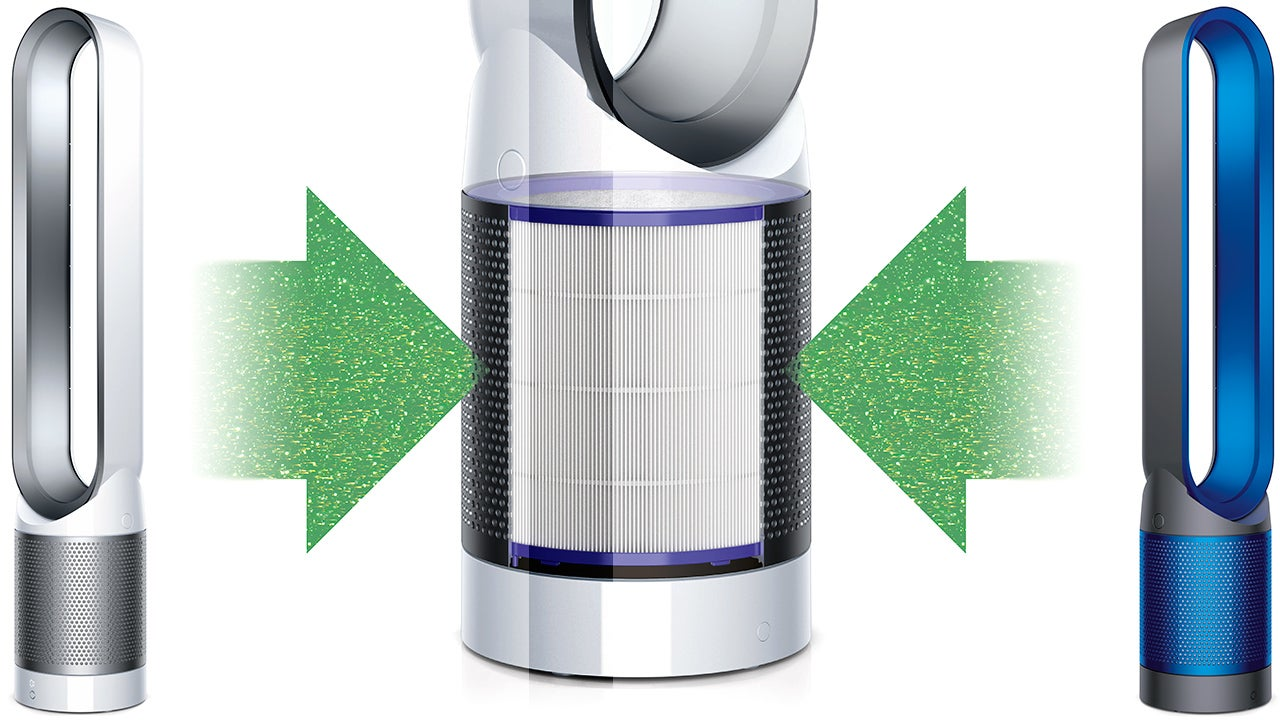 Dyson Put A Filter In Its Bladeless Fan To Cool And Clean A Room