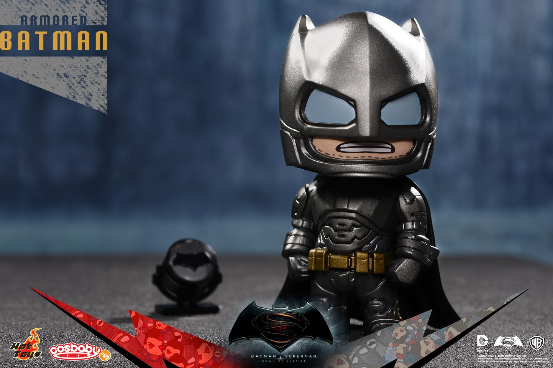 Hot Toys' Baby Batman and Superman Are Super Adorable