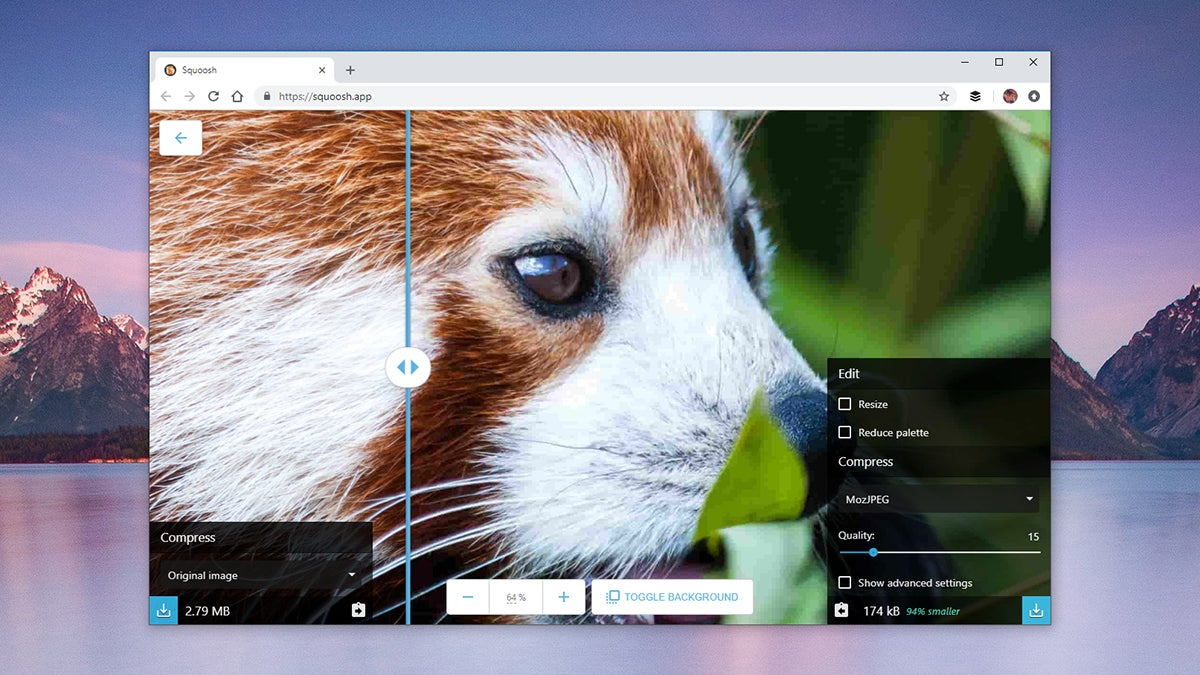 Google's 'Squoosh' Image CompressionTool Shows Off The Power Of Web Apps