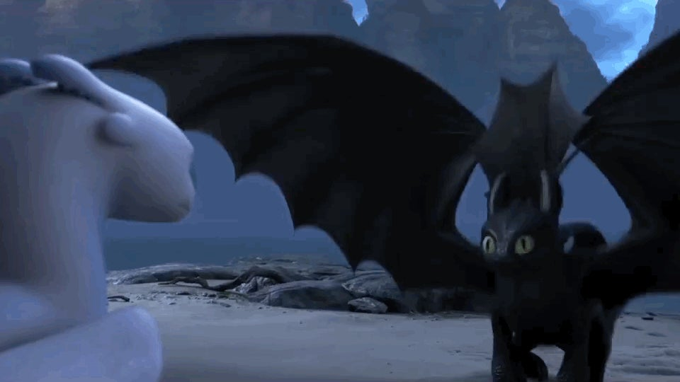 The how to train your dragon 3 trailer gives us a bearded hiccup and goddammit toothless youre adorable the third film in the saga from dreamworks how to train your dragon 3 the hidden world introduces a whole new ccuart Choice Image