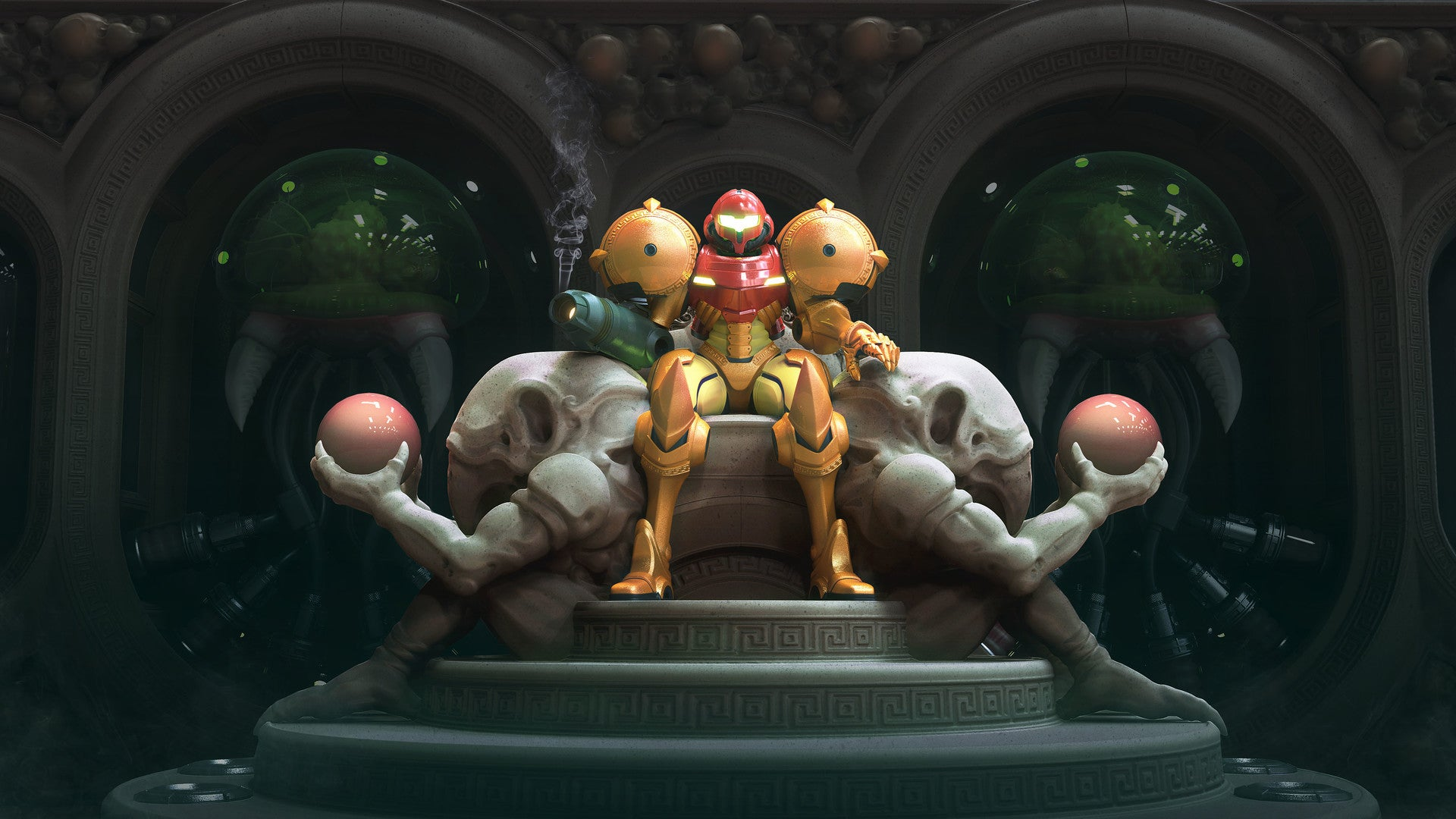 She Sits, Resplendent On Her Throne