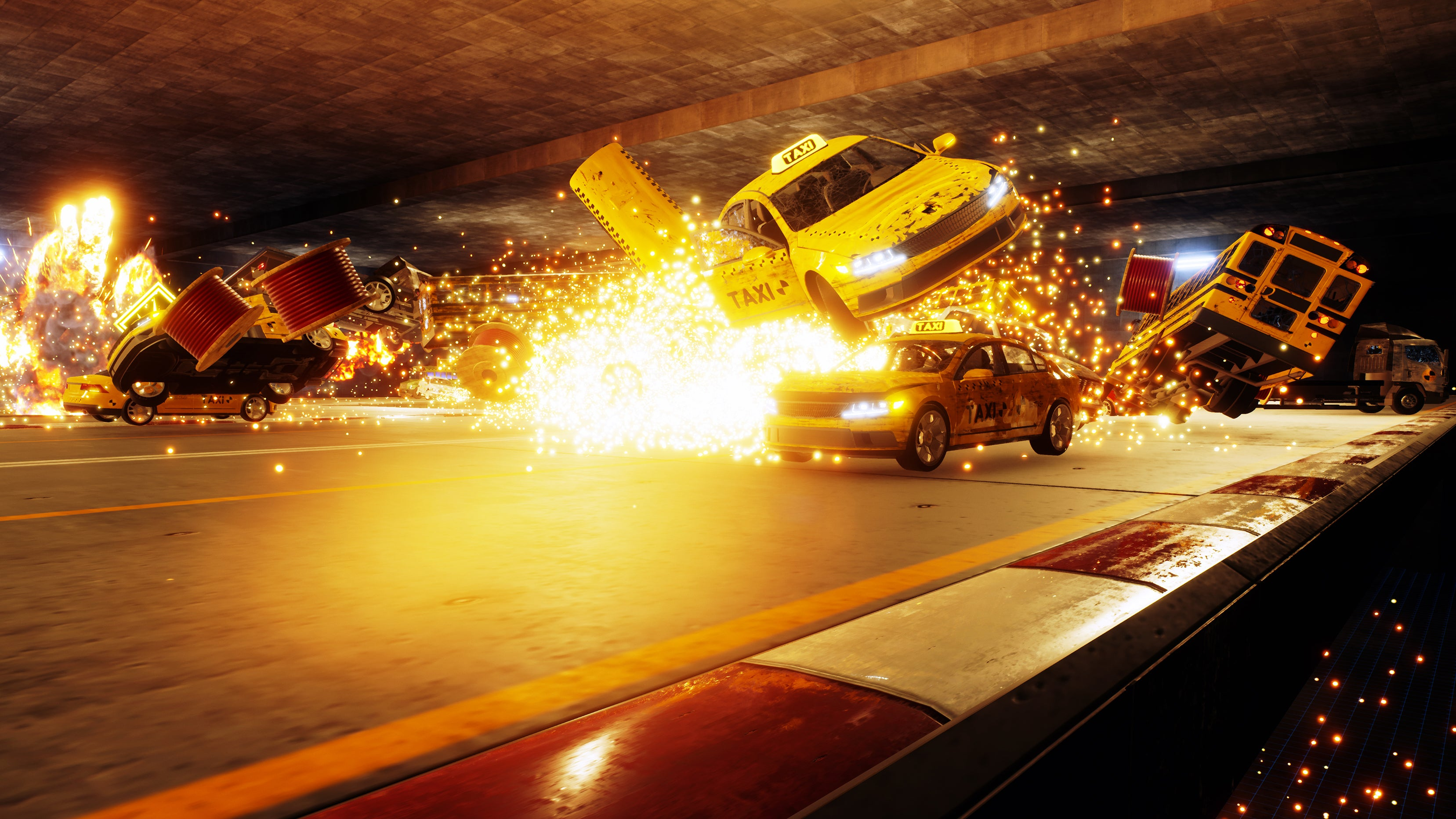 Burnout Creators Making Crash Mode Spiritual Successor Danger Zone