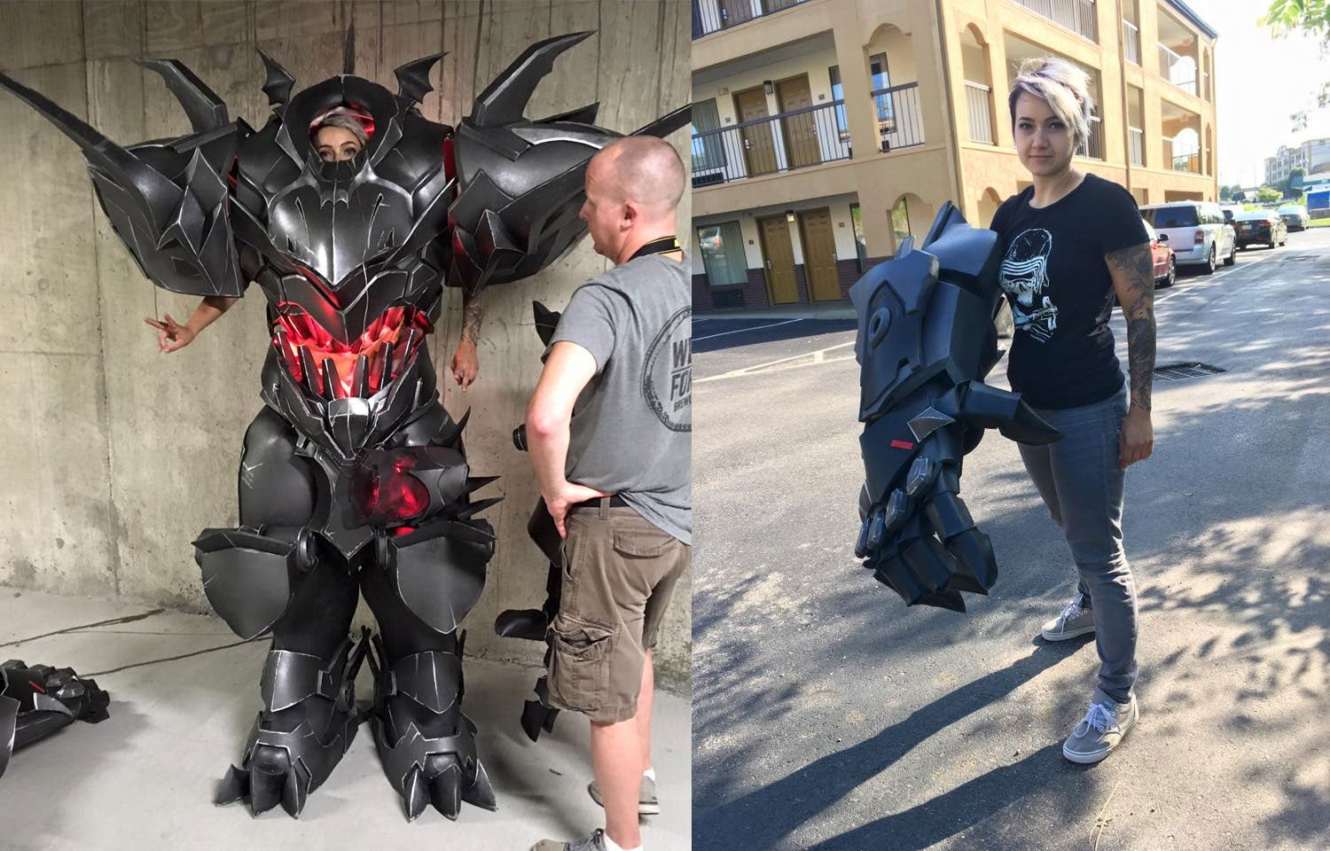 Look At The Size Of This Overwatch Cosplay | Kotaku Australia