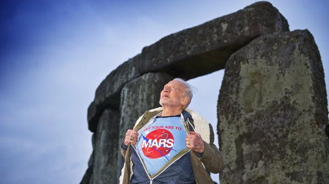 Buzz Aldrin Has An Important Message For Humanity
