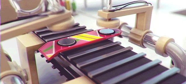 What a Back to the Future Hoverboard Factory Would Probably Look Like