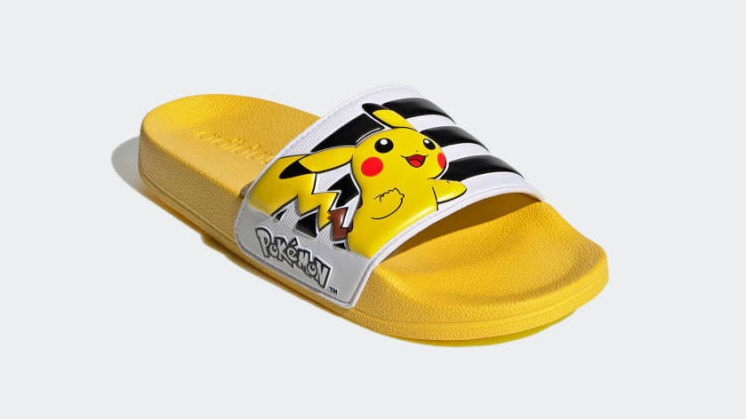 Adidas' Pokémon Slides Are Very Cute