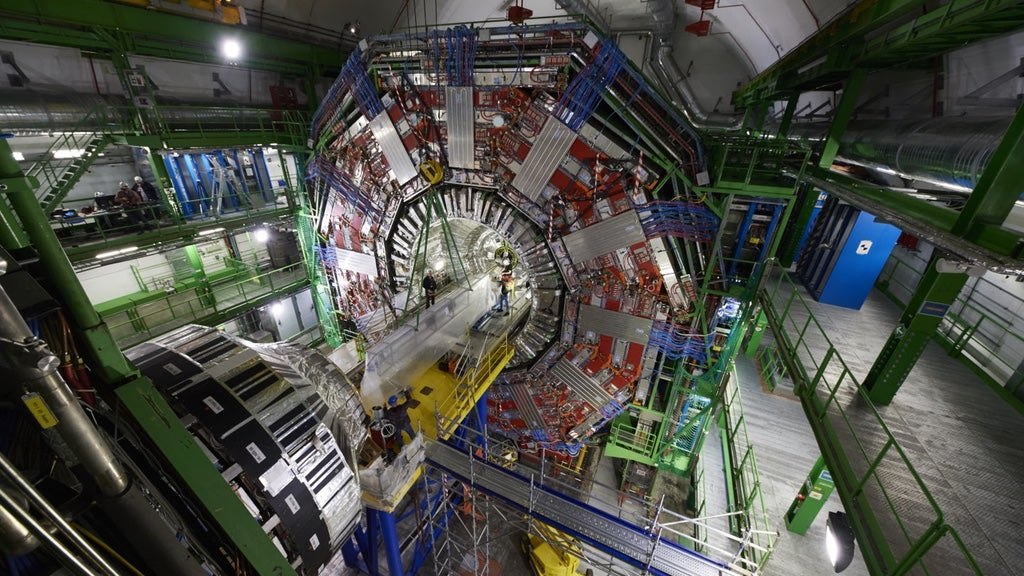 Watch A Large Hadron Collider Experiment Get A Major Upgrade