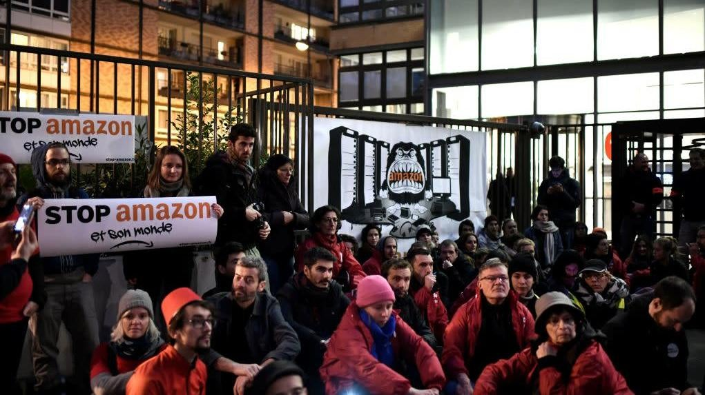 Amazon Worker Strikes Escalate With Power Shutdown