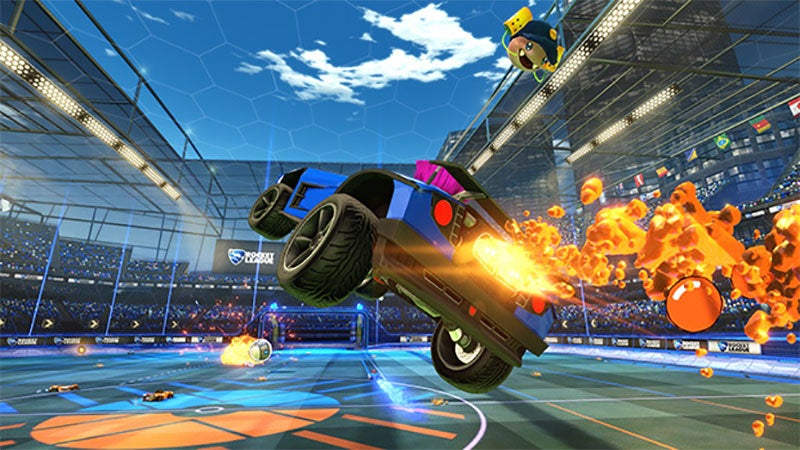 Rocket League Is Coming To Xbox One Next Week