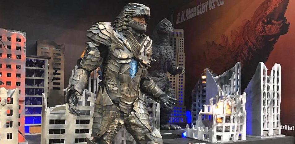 Man Makes Godzilla Themed Armour Costume
