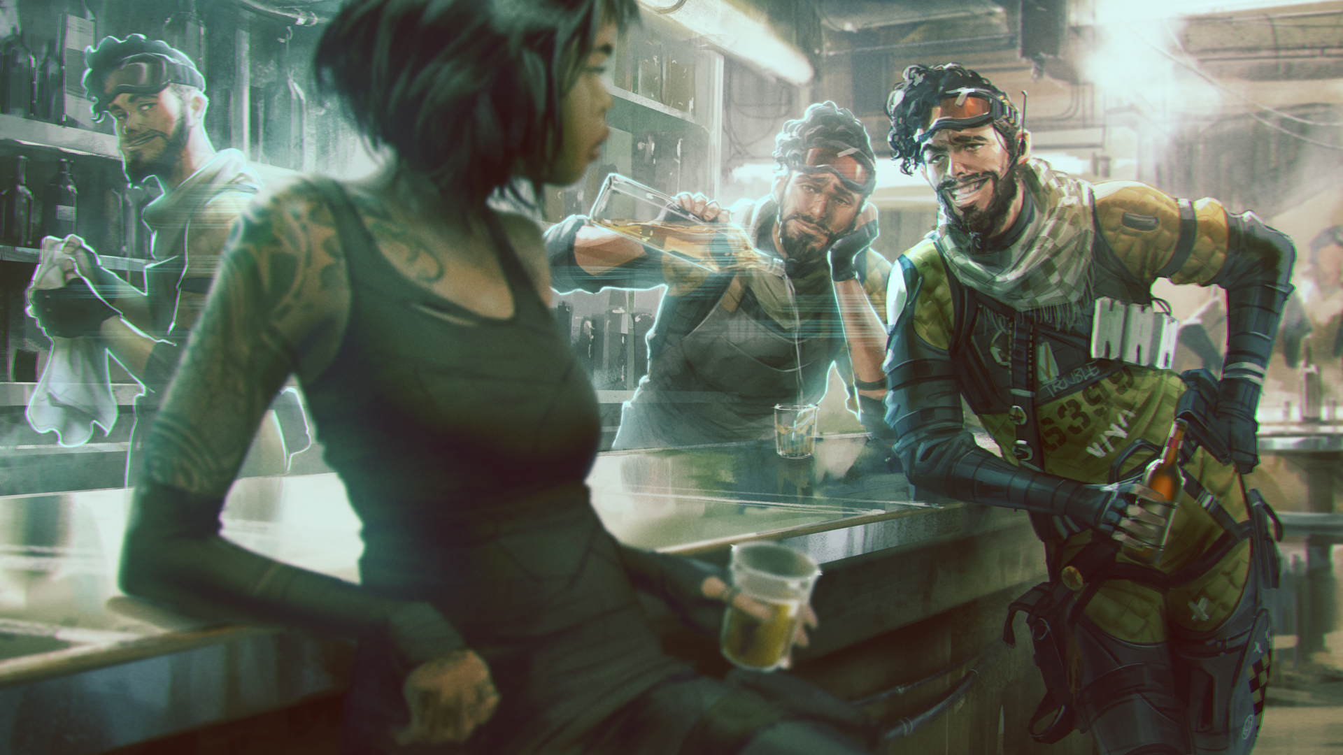 Apex Legends' Mirage Has A Dating Profile Now