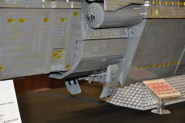 It Only Took $US7,000 To Build This LEGO Halo Spaceship